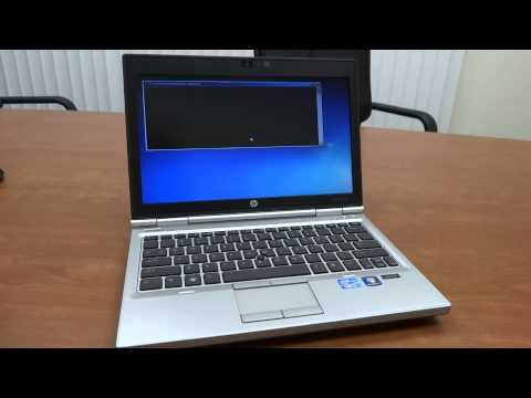 How to Restore an HP EliteBook to Factory Default Settings (2570p in Demo)