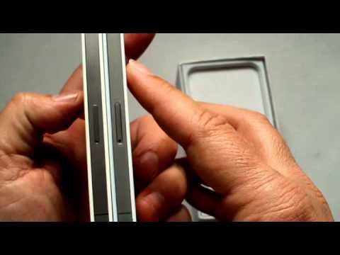Unboxing iphone 4s copy