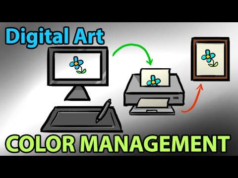 Color Management for Digital Art & Design