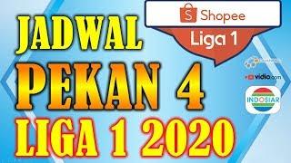 Jadwal Liga 1 2020 Pekan 4 Lengkap Jam Tayang Siaran Langsung Live Indosiar OChannel Vidio