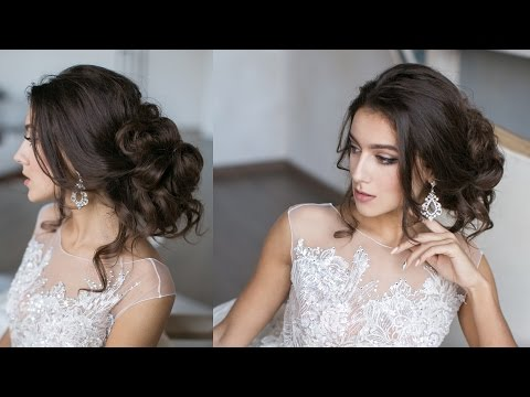 Easy Loose updo in 12 min. Chic fast hairstyle