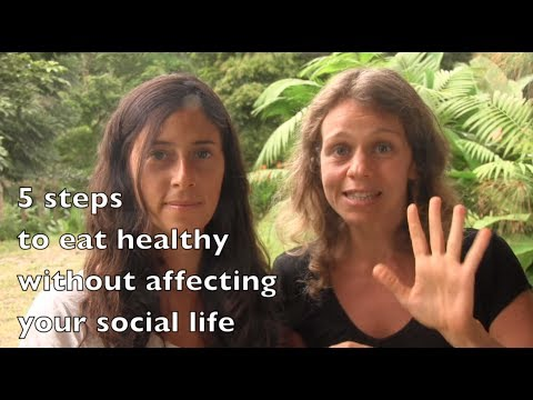 How to manage your social life when you want to eat healthy