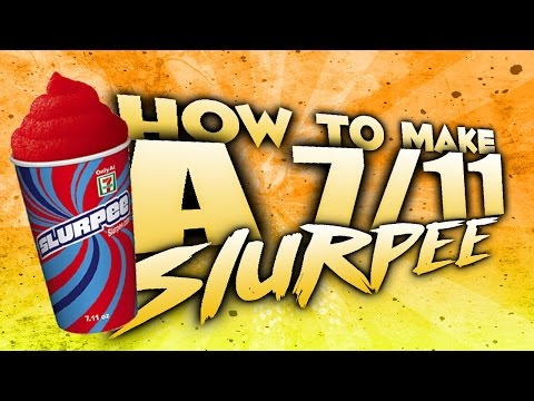 D.I.Y How to make a 7/11 slurpee for free at home