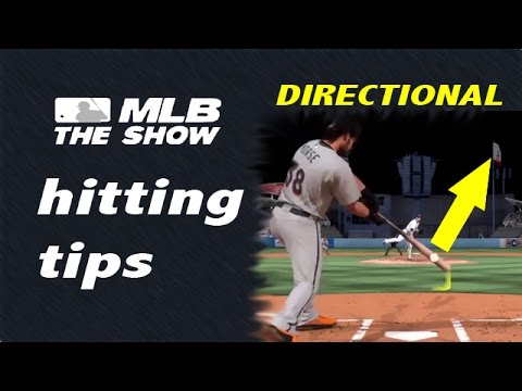 MLB The Show 15 - Hitting Tips DIRECTIONAL
