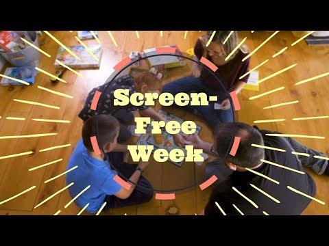 Health & Wellness News: Screen-Free Week