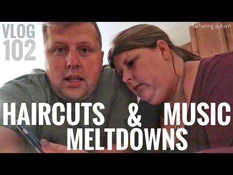 Destructive Meltdown | Autism Haircut | My First Music Video