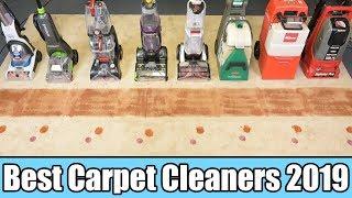 Best Carpet Cleaner 2019 - TESTED- Bissell vs Rug Doctor vs Hoover