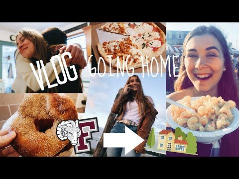 WEEKEND VLOG: Going Home for the First Time From College in NYC (Fordham University)