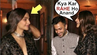Sonam Kapoor Gets ANNOYED By Anand Ahuja