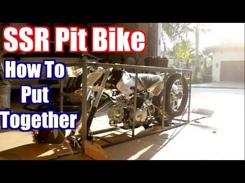 How To Build SSR Pit Bike!