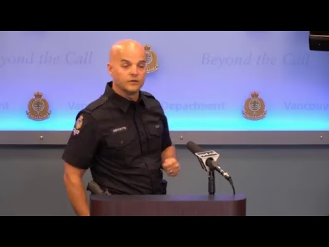 VPD Press Conference: Targeted Double Shooting