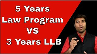 Download Difference between BA LLB, BBA LLB and B LLB. Difference in 5 Years Law Program and 3 Years LLB Video