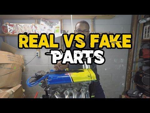 REAL CAR PARTS VS FAKE CAR PARTS (My thoughts)