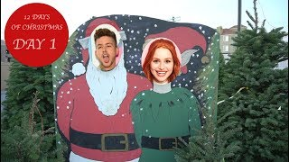 MY FIRST REAL CHRISTMAS TREE!! | Madelaine Petsch