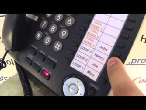 ProStar Communications - Transfer to Voicemail - Panasonic KX-DT/NT