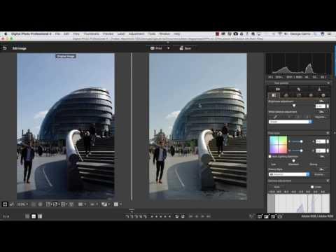 Canon Digital Photo Professional Video Tutorials - 4 Counteract colour casts