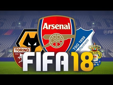 MY FAVOURITE CAREER MODE TEAMS IN FIFA 18!