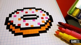 Handmade Pixel Art How To Draw A Kawaii Pizza By Garbi Kw