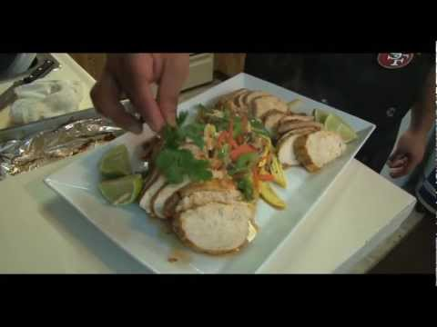 How to Make Pan Seared Chicken Breast with Sauteed Vegetables