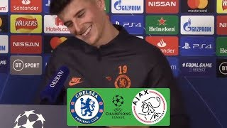Mason Mount: Chelsea Can Win Champions League Under Lampard | Ajax Preview