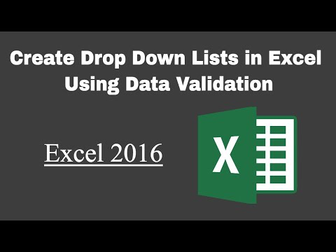 Data Validation Excel: How to Create Drop-Down Lists