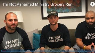 May I pay for your groceries?- I'm Not Ashamed Ministries