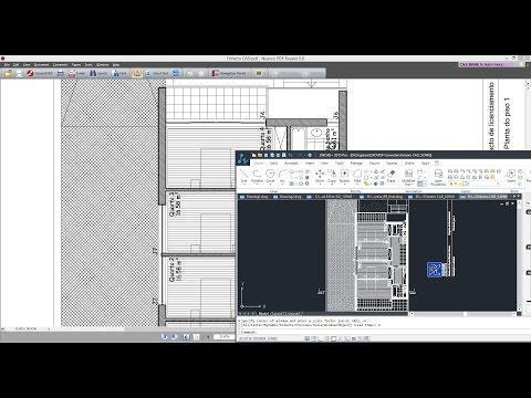 Como converter ficheiros PDF para o formato .DWG utilizando o ZWCAD, Software CAD.