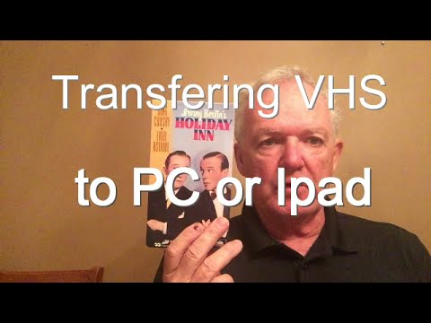 How to transfer VHS to PC