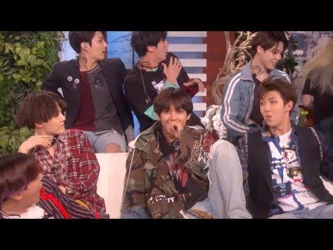 Boy Band BTS Get FREAKED OUT By A Big Fan On Ellen!