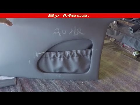 How to Make Truck Custom Center Console. Part 3-6 | how to make packet & Compartment  -  Woodworking