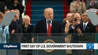 U.S. government shutdown begins
