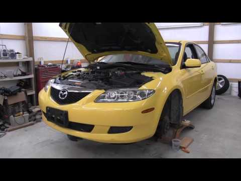 A/C compressor removal 2003-2008 Mazda 6....not as bad as it looks?