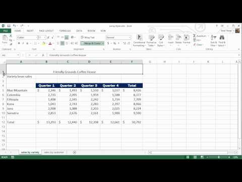 How to Use Styles in Excel