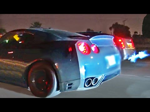 Night Full of STREET RACING in L.A.
