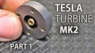 Micro Tesla Turbine Mk2 | Part 1 | The Rotor