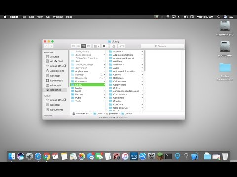 How to Locate the Minecraft Folder On A Mac