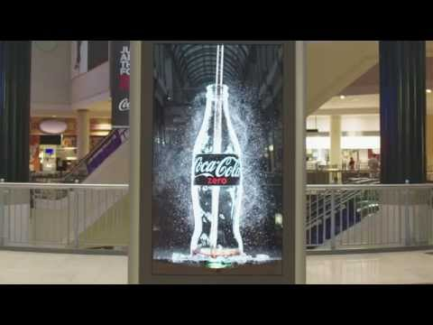 Coca cola Creates First Ever  Drinkable  Advertising Campaign