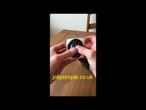 Renault Worn Gear knob standard renovation sticker instructions from jollysimple.co.uk