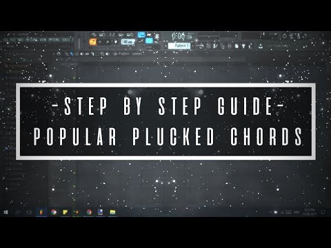 How to make the popular plucked chords in Sylenth1