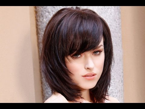 30 Shoulder Length Hairstyles With Bangs And Layers | Shoulder Length Hairstyles With Bangs