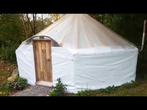 6m pallet yurt