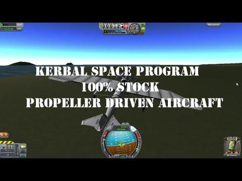 KSP Stock Prop Plane, Proof of Concept