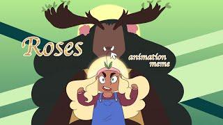 Roses | Animation Meme | Loop **Warning for Flashing Lights!**