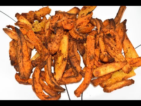 Sweet Potato Fries In The Actifry - Air Fryer Sweet Potato Fries