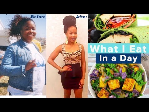 What I REALLY Eat IN A DAY to Get a Small Waistline FAST | Quick Vegan Meal Options for Weight Loss