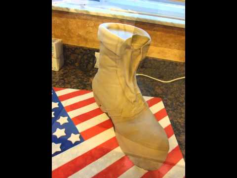 Army boots cake tutorial