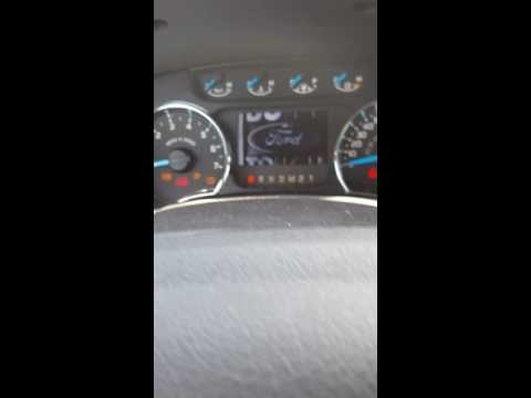 2013 Ford F-150 oil life reset procedure