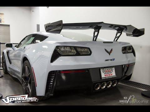 Ceramic Matrix Corvette C7 ZR1 ZTK Walkaround and Cold Start