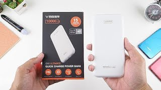 175rb.. Fast Charger 10000 Mah Veger Q10 Ultimate