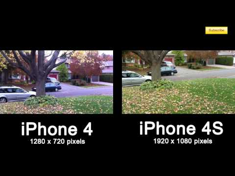 iPhone 4 vs iPhone 4S Video Camera Wise - Is it worth to upgrade?